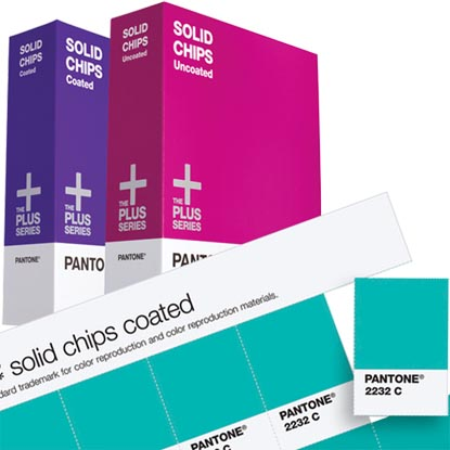 PANTONE SOLID CHIPS Coated & Uncoated (GP1403)